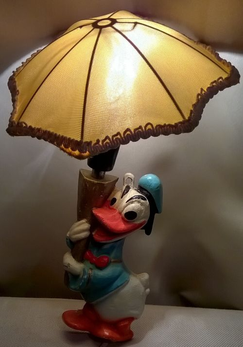 Soviet Donald Duck night lamp